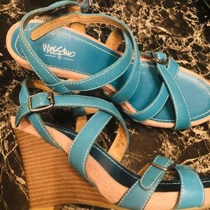 Mossimo Pell Strappy Wedges